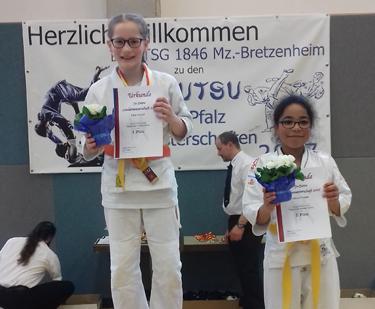 Lina Ansari ist Rheinland-Pfalz Meisterin im Ju-Jutsu Fighting
