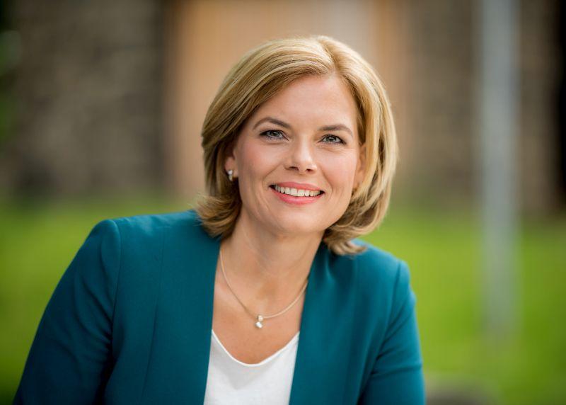 Julia Kl�ckner zum Wahlkampf in Altenkirchen