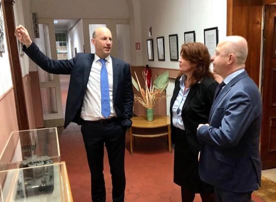 FDP-Politiker besuchten den Westerwald