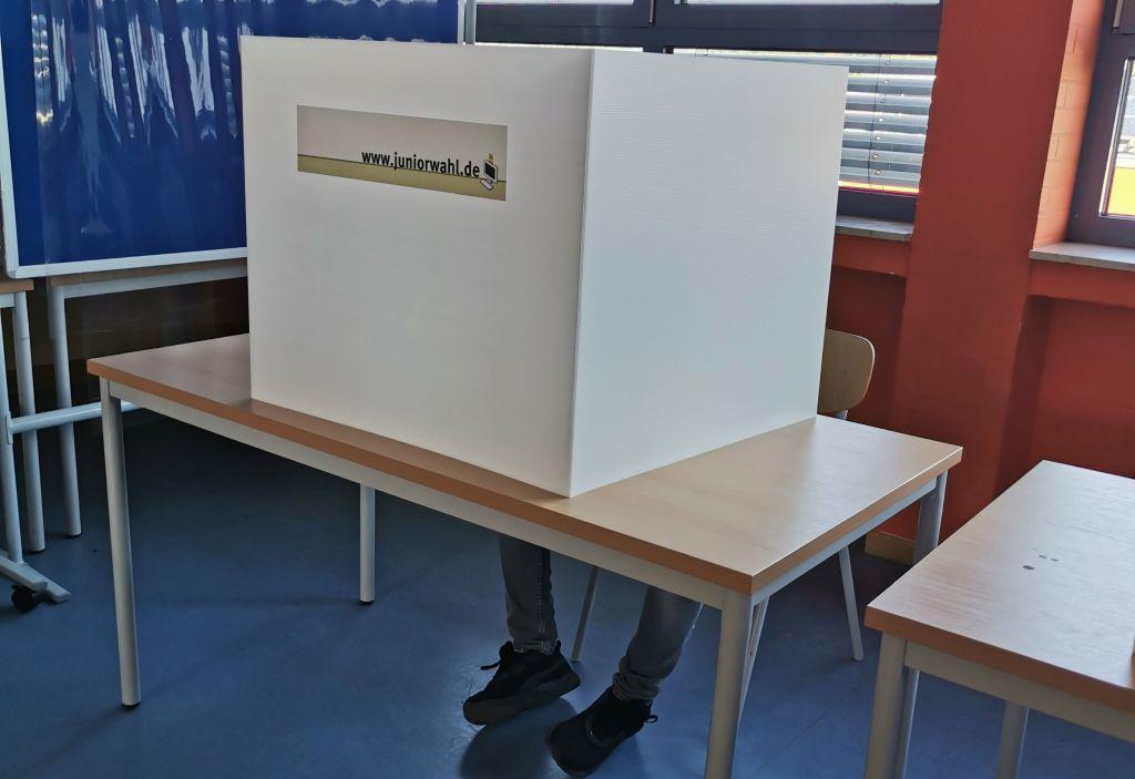 Juniorwahl an der Realschule plus in Puderbach