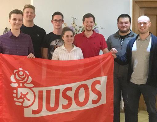 Juso-Kreiskonferenz: Philip Schimkat weiter Kreisvorsitzender