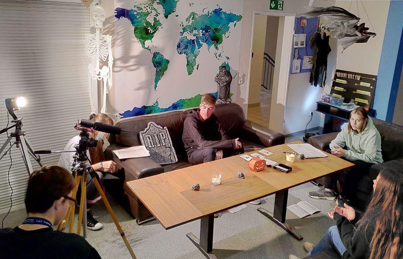 """Juze-Filmprojekt """"A Really Black Story """" in den Herbstferien"""