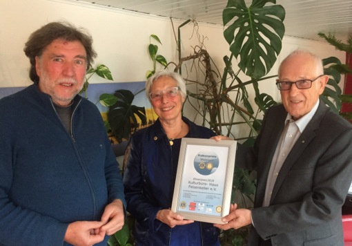 Kulturpreis Westerwald: Auszeichnung f�r Haus Felsenkeller