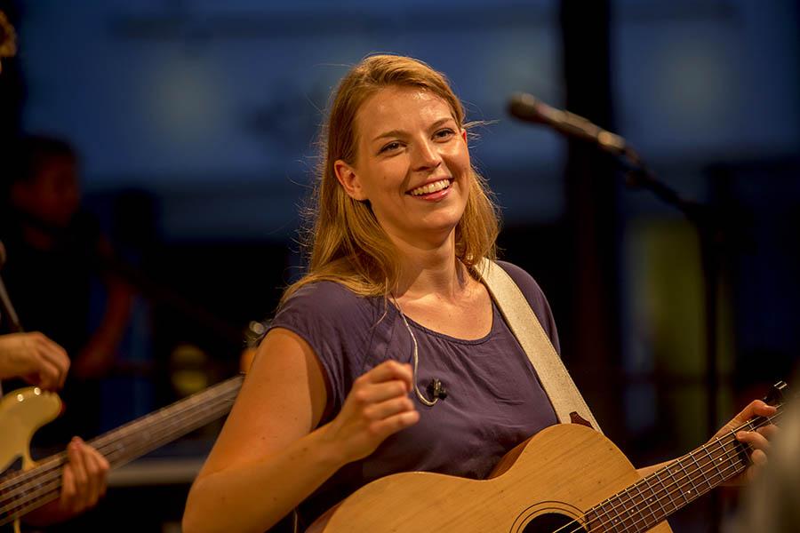 Kuriere präsentierten heißes Musik-Event: Hanne Kah und Band