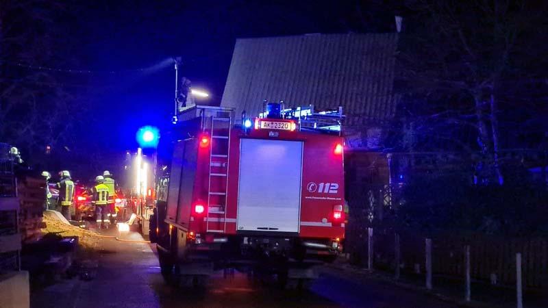 Kaminbrand in Birkenbeul: Nachbarn alarmierten die Anwohner