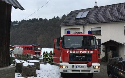 Feuerwehr Hamm musste zu zwei Eins�tzen