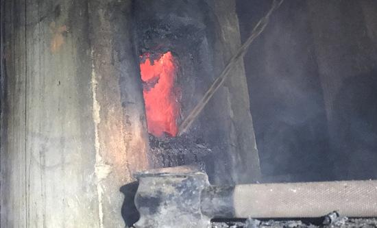 Hammer Wehr bei Kaminbrand in Forst gefordert