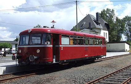 Eisenbahnromantik mit dem Heimat- und Verkehrsverein Horhausen
