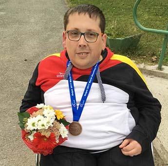 Kevin Zimmermann gewann beim Welt-Cup in Osijek Bronze