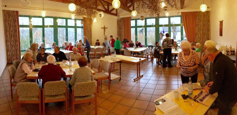 BGV-Lesung bei der kfd in Bruche