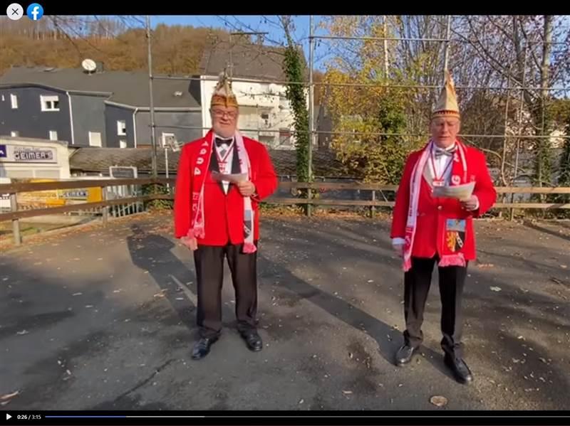 Ausfall Karnevalsbeginn in Herdorf: Traurig-humorvolles Video geht viral