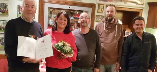 Nicole Thielmann ist Ehrenvorstandsmitglied der Wissener KG