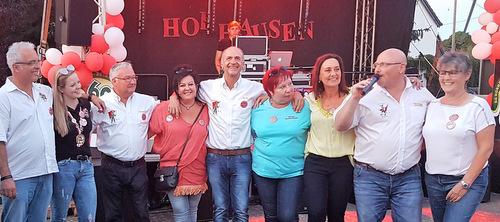 60 Jahre KG Horhausen: Mit vielen Freunden und Musik gefeiert