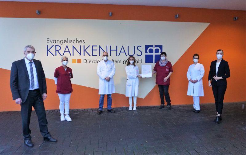 Evang. Krankenhaus Dierdorf/Selters von DDG re-zertifiziert