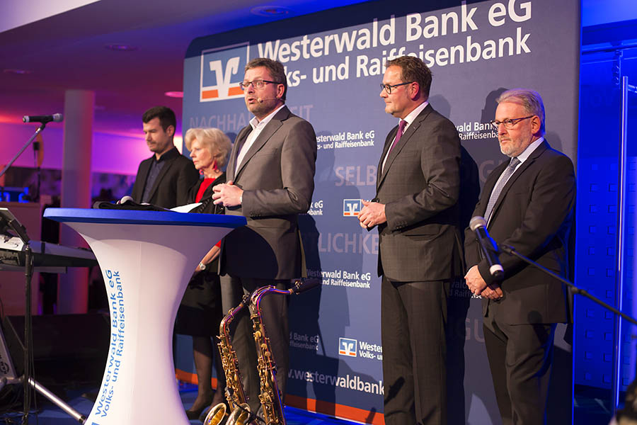Alle Jahre wieder: Westerwald Bank lud zum Weihnachtsmarktempfang