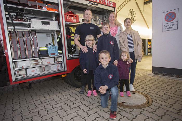 Familie Kind aus Oberdreis engagiert sich für die Feuerwehr