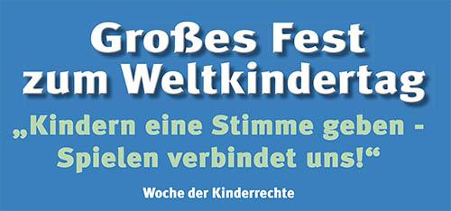 Fest zum Weltkindertag des Kinderschutzbundes Altenkirchen