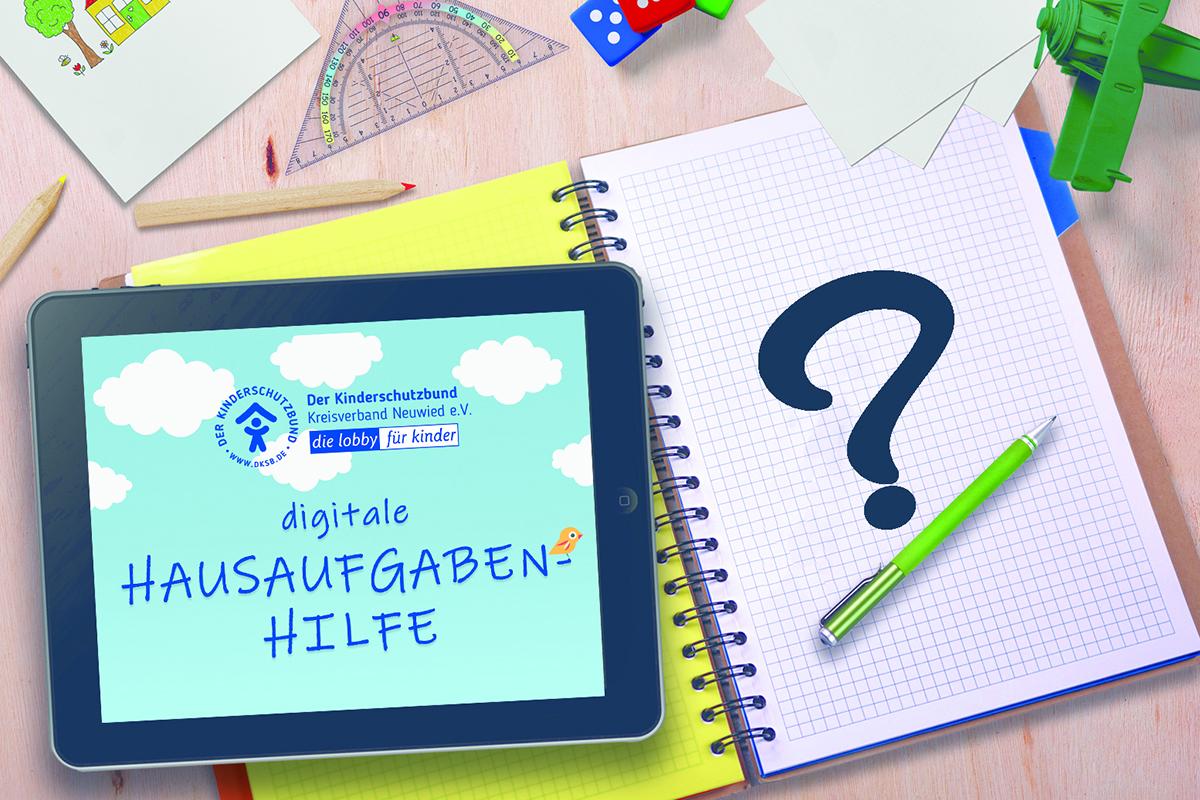 Regenbogenhaus bietet digitale Hausaufgabenhilfe