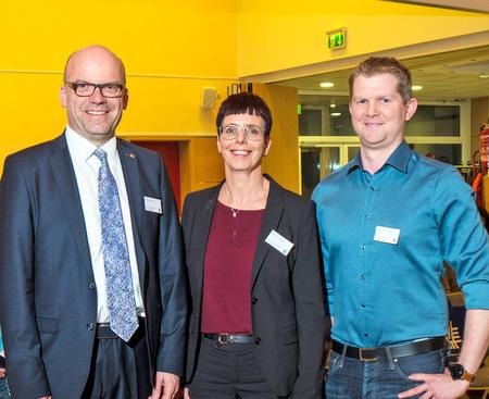 Die Steuerexperten informierten in Nistertal: (von links) Andreas Kind, Silke Schneider und Benjamin Hähner. (Foto: Veranstalter)