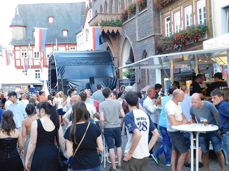 Montabaur verwandelt sich fünf Tage in eine Partyzone