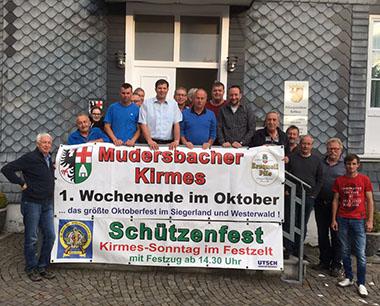F�nf Tage wird die 189. Mudersbacher Kirmes gefeiert