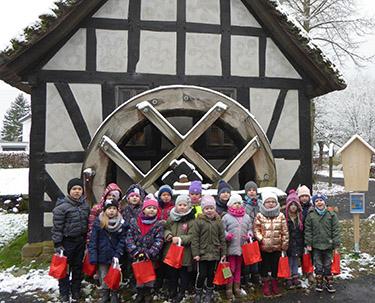 Vorschulkinder aus Altenkirchen besuchten Landschaftsmuseum