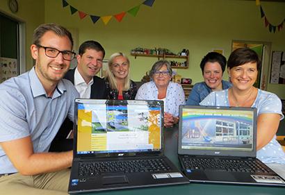Neue Webseiten f�r die Kitas in Mudersbach und Birken