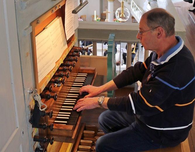 Organist Klaus Schnug. Foto: privat