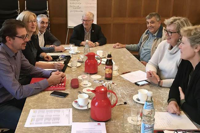 SPD-Fraktion Unkel diskutierte brennende Themen