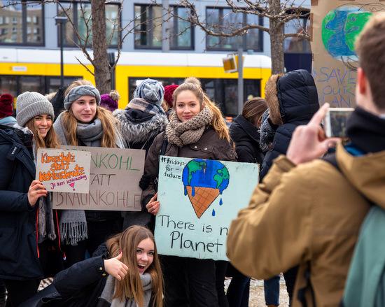 �Fridays for Future�: Mahnwache f�r das Klima in Altenkirchen