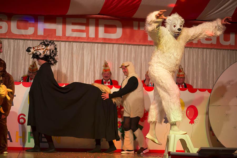 Der Fahrplan für Karneval in Kleinmaischeid