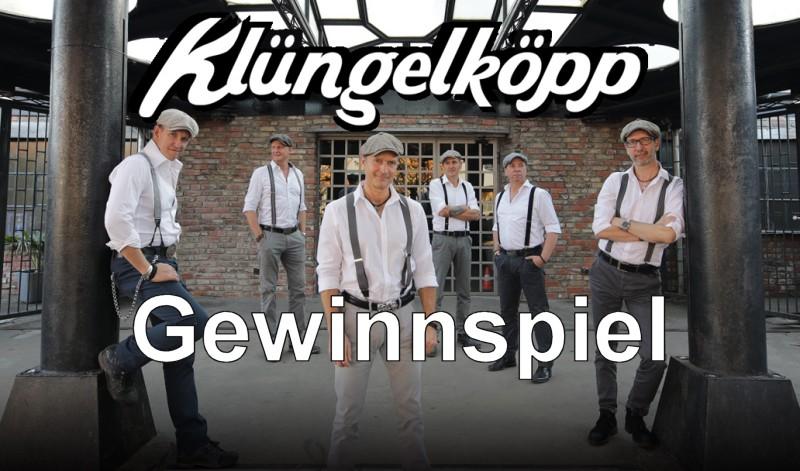 2x2 Tickets zu gewinnen: Klüngelköpp am 9. August im Kloster Marienthal