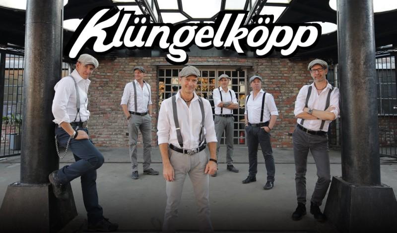 Konzert der Klüngelköpp am 17. Juli im Biergarten des Klosters Marienthal