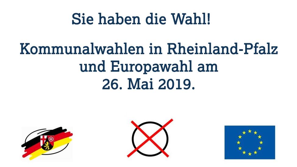 Kommunalwahlen in Rheinland-Pfalz: Viel zu tun am 26. Mai