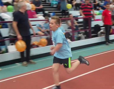 Paul-Lukas Knautz startete beim 15. Down-Sportlerfestival