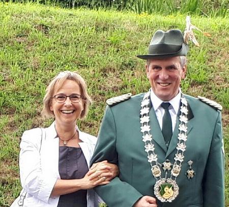 Am Pfingstwochenende ist Sch�tzenfest in Leuzbach