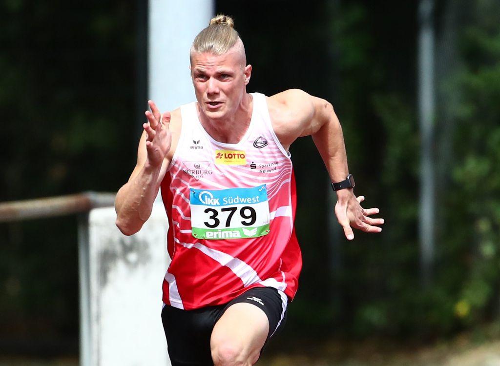 Lennert Kolberg erreichte mit Hausrekord von 10,92 Sekunden das 100-Meter-Finale in Wetzlar. Foto: privat