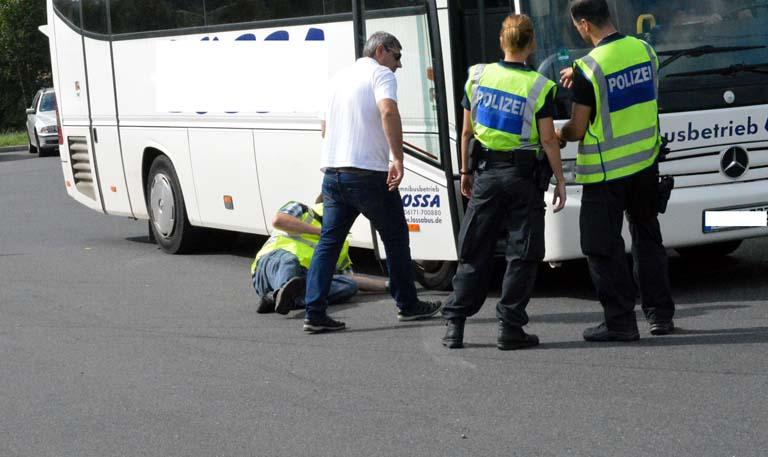 Schwerpunktkontrolle – Reisebusse wurden kontrolliert