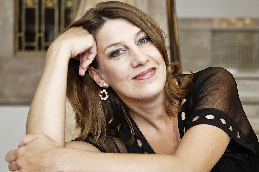 Sopranistin Judith Kuhn Foto: Mark Frost