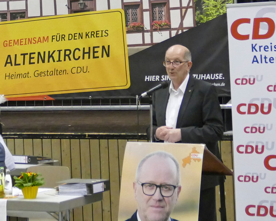 CDU-Kreisparteitag: Infrastruktur und ärztliche Versorgung bleiben Top-Themen