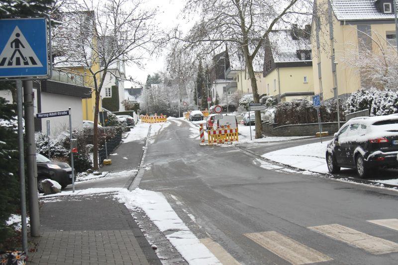 Baustelle Kreisel Fürstenweg: Fortsetzung ab 11. Januar
