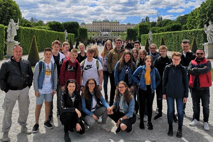 Jugendbildungsfahrt der Kreisjugendämter nach Wien und Bratislava