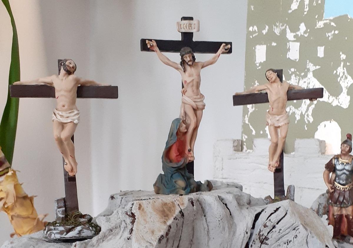 Sehenswert: Die Osterkrippe in der katholischen Kirche Hamm