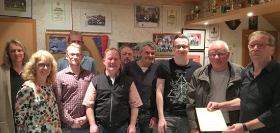 FC Kroppacher Schweiz: Jochen Koschinski weiter Vorsitzender