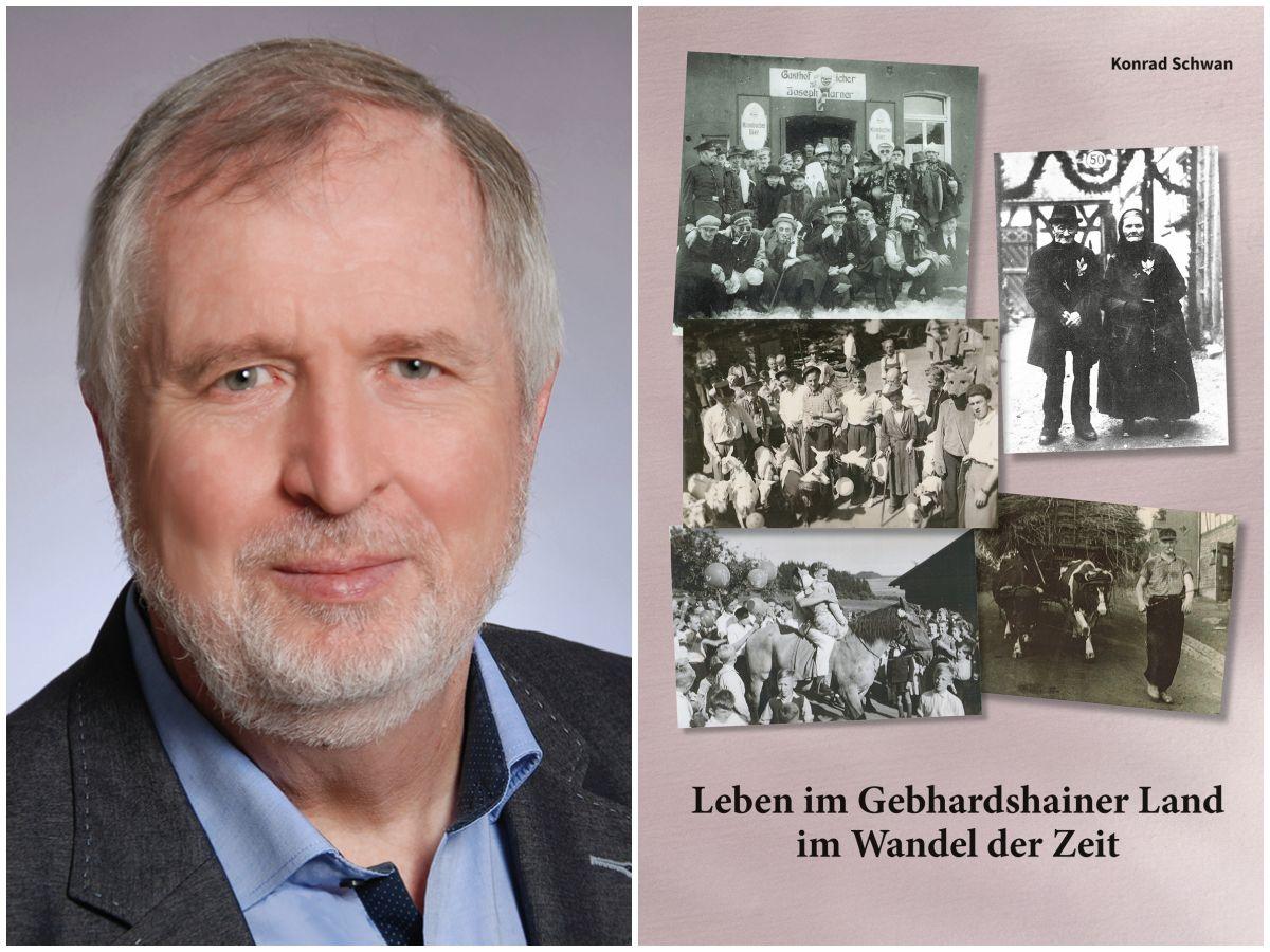 """""""Leben im Gebhardshainer Land im Wandel der Zeit"""" – Konrad Schwan bringt Buch raus"""