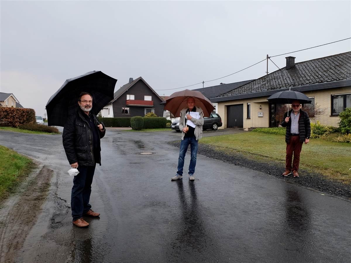Birken-Honigsessen: Ausbau der Kumpstraße beginnt mit Kanalsanierung