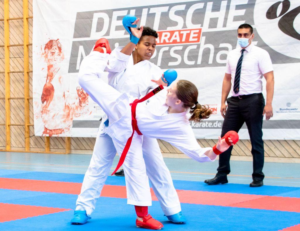 Karate: Mariel Weiler gewinnt Bronze bei der U18 DM