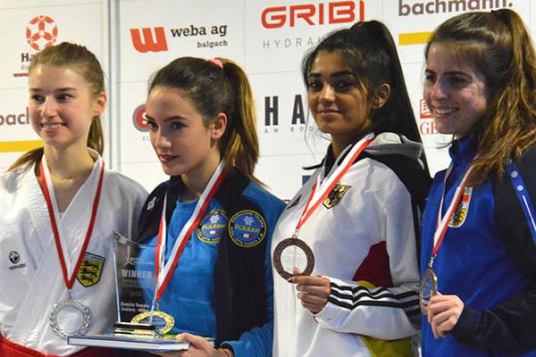 Karate: Priti Pelia wird dritte beim Champions Cup in Österreich