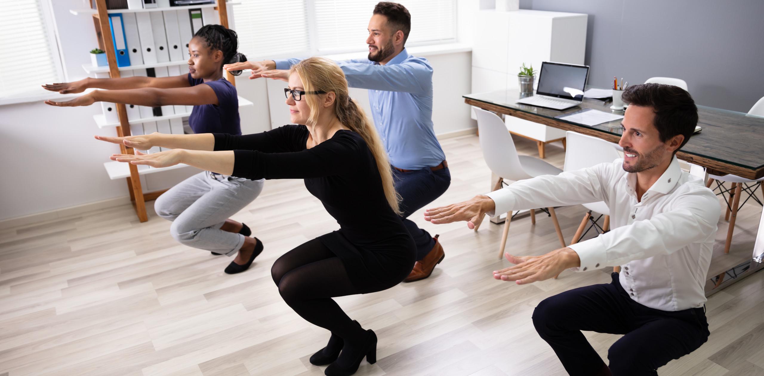 """Neues Programm """"Firmenfitness"""" bringt ganze Teams in Form"""