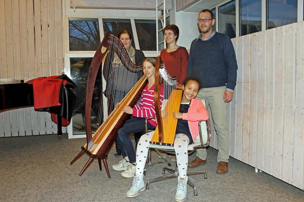 Neue Harfe für die Musikschule der Stadt Bad Honnef